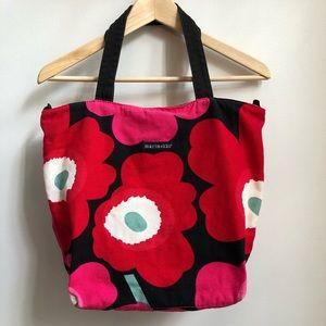 MARIMEKKO Floral Tote Bag Avon Breast Cancer